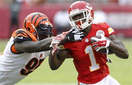 Wallace Gilberry, De'Anthony Thomas