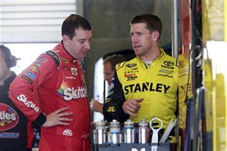 Carl Edwards, Kyle Busch