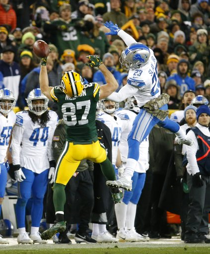 Lions Packers Football