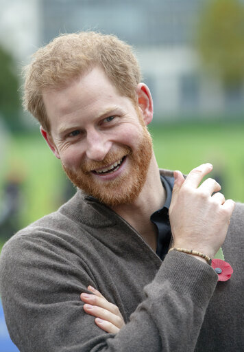 prince harry young archie send good luck message to england accesswdun com 2