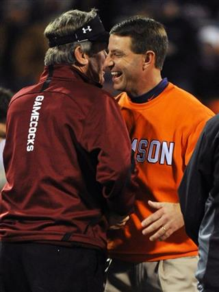 Dabo Swinney, Steve Spurrier