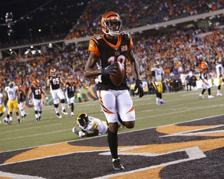 A.J. Green, Coty Sensabaugh