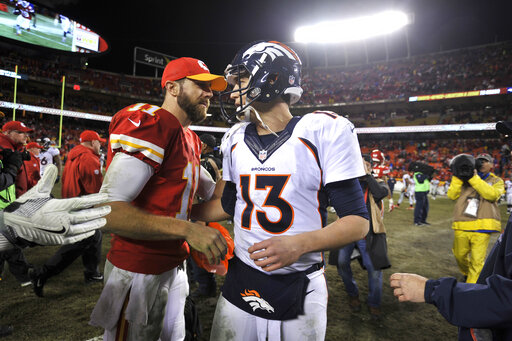 Alex Smith, Trevor Siemian