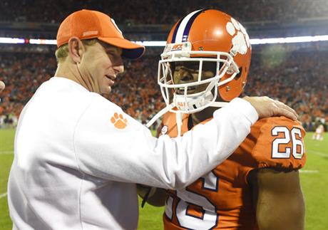 Dabo Swinney, Adam Choice