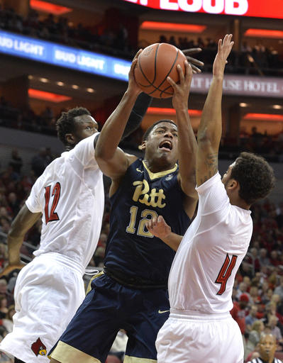 Pittsburgh Louisville Basketball