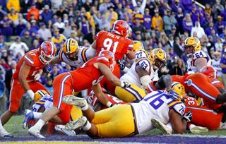 LSU-Florida Angst Football