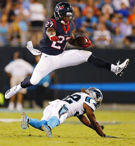APTOPIX Texans Panthers Football