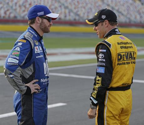 Dale Earnhardt Jr, Matt Kenseth