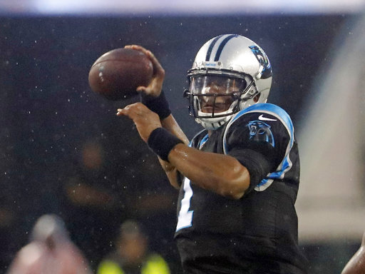 Panthers Newtons Readiness Football