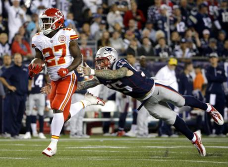Kareem Hunt, Cassius Marsh