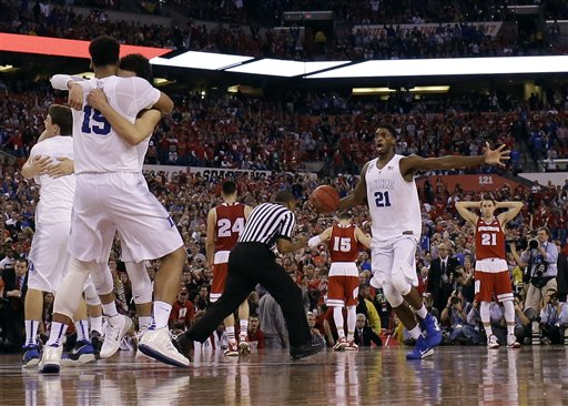 APTOPIX NCAA Duke Wisconsin Final Four Basketball