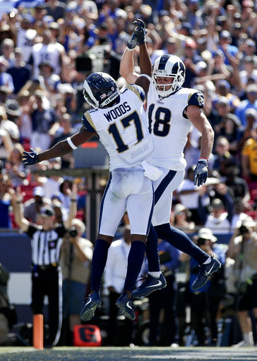 The Latest: Goff, Rams off to fast start against Charge   AccessWDUN