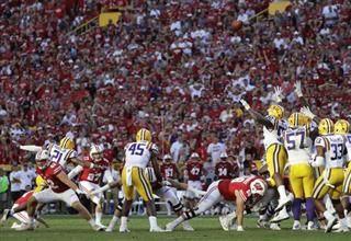 LSU Wisconsin Football