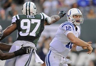Andrew Luck, Calvin Pace