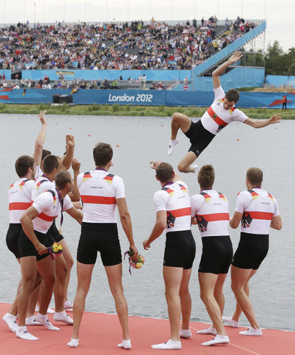 Olympics Rowing  What Cox Says