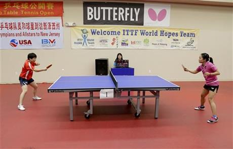 Youngest Table Tennis Player