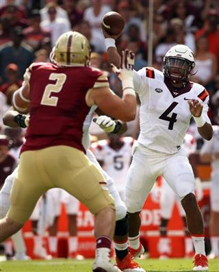 Boston College Virginia Tech Football