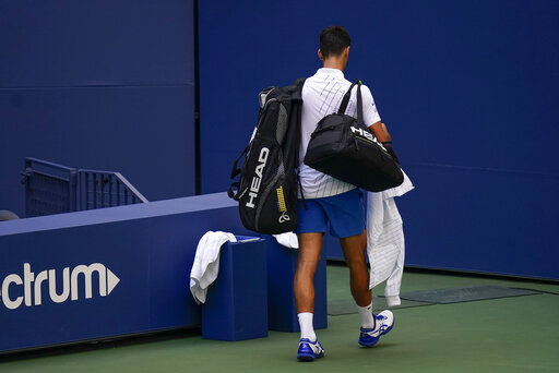 Djokovic Out Of Us Open After Hitting Line Judge With B Accesswdun Com
