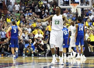 APTOPIX NCAA Duke Oregon Basketball