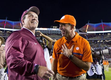 Jimbo Fisher, Dabo Swinney