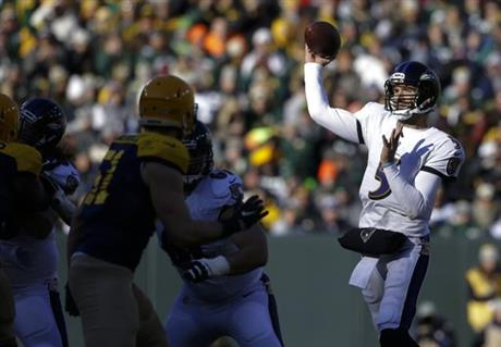 Ravens Packers Football