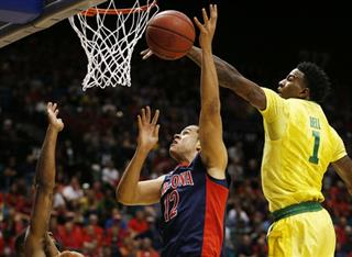 P12 Oregon Arizona Basketball