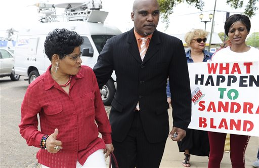 A fired Texas trooper has pleaded not guilty to a charge of