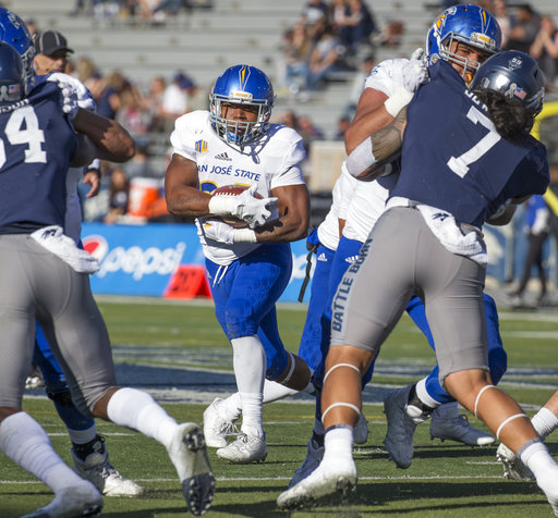 San Jose St Nevada Football