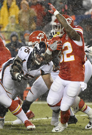 Derek Wolfe, Spencer Ware