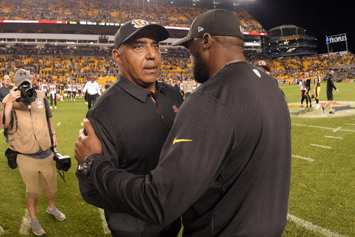 Mike Tomlin, Marvin Lewis