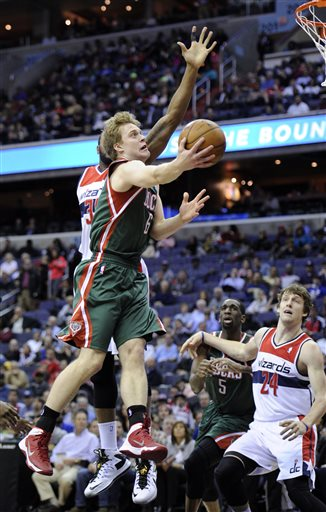 Bucks-Wizards 12/6/2013 | Photo Gallery