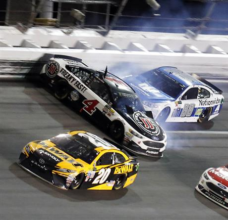 Kevin Harvick, Dale Earnhardt Jr., Matt Kenseth