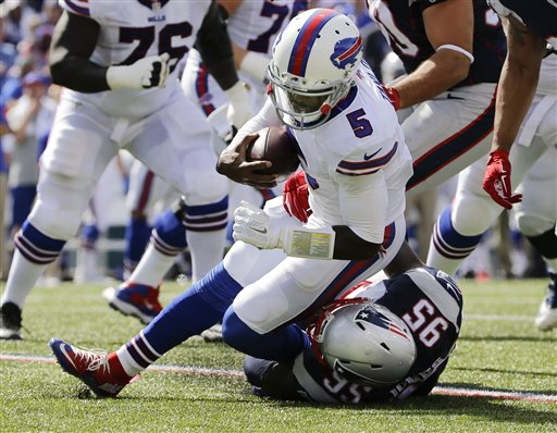 Tyrod Taylor, Chandler Jones
