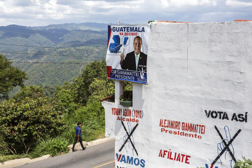 Migration, corruption hover over Guatemala presidential