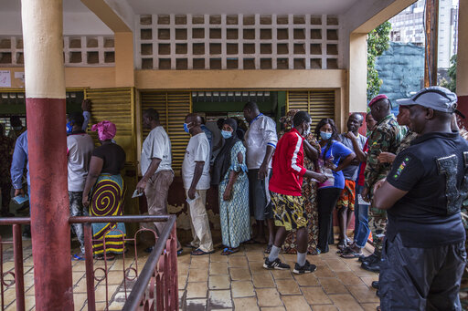 Guineans Votes in Tense presidential election as 82-year-old incumbent Conde seeks third term - Tatahfonewsarena