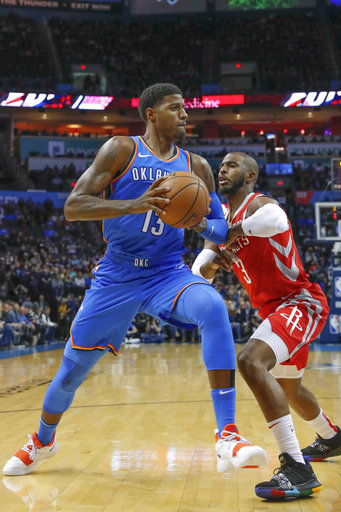 e440770f522 Thunder top Rockets without Westbrook for 7th straight ...