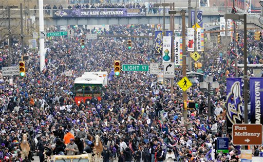 82426dfb Forbes Magazine ranks Baltimore Ravens fans fifth in the NFL ...
