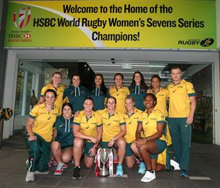 Australia Olympics Rugby Union Green And Gold