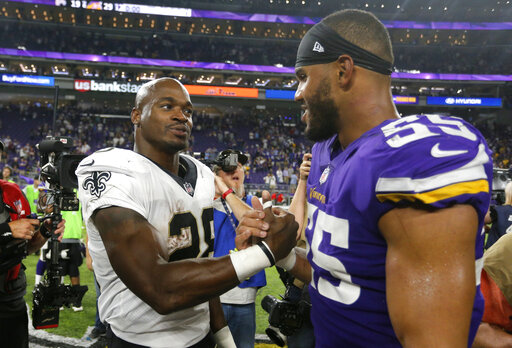 Adrian Peterson, Anthony Barr