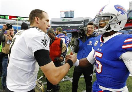Drew Brees, Tyrod Taylor