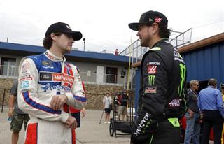 Ryan Blaney, Kurt Busch