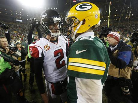 Aaron Rodgers, Matt Ryan