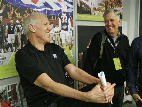 Bill Walton, Mike Montgomery