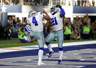 Cowboys Elliott Football