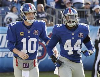 Eli Manning, Andre Williams