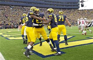 Jehu Chesson, Graham Glasgow, Amara Darboh