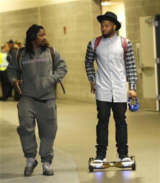 Marshawn Lynch, B.J. Daniels