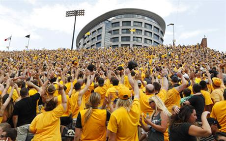 Iowa The Wave Football