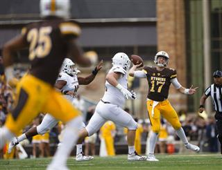 Texas St Wyoming Football