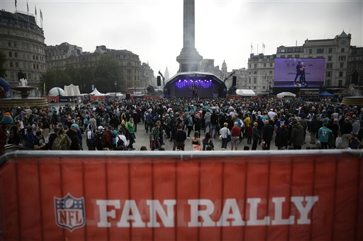 Britain's Dolphins Jets Football